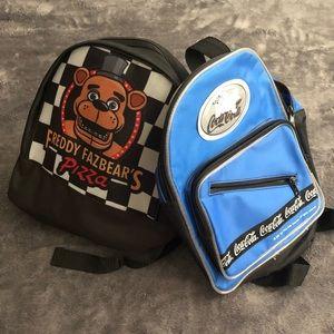 2 Mini Backpacks ( selling together)